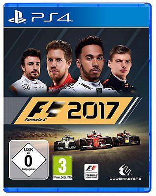 F1 2017  (Formel Eins 17)       PS4        Playstation 4     !!!!! NEU+OVP !!!!! (Ps4 Formel Eins)