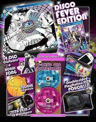 Persona 4: Dancing All Night - Disco Fever Edition [Sony PlayStation Vita PSV]