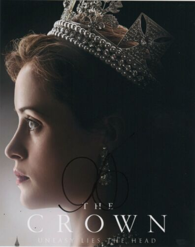 Claire Foy The Crown Autographed Signed 8x10 Photo COA #O21