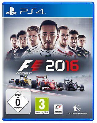 F1 2016  (Formel Eins 16)        PS4     Playstation 4       !!!!! NEU+OVP !!!!! (Ps4 Formel Eins)