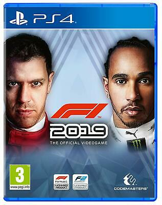 F1 2019 (PS4)  NEW AND SEALED - IN STOCK - QUICK DISPATCH - FREE UK POSTAGE
