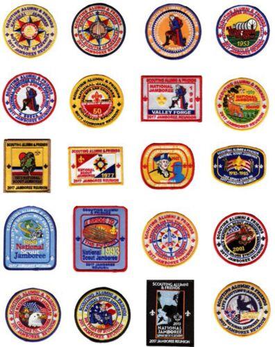 Scouting Alumni & Friends Jamboree Reunion Patch Set