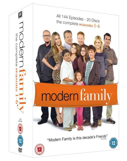 MODERN FAMILY COMPLETE SERIES SEASON 1,2,3,4,5,6 DVD BOXSET 1-6 R4 EXPRESS POST!