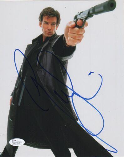Pierce Brosnan Goldeneye Autographed Signed 8x10 Photo JSA COA #2