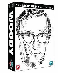 THE WOODY ALLEN 20 FILM COLLECTION DVD NEW REGION 2