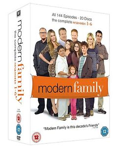 MODERN FAMILY COMPLETE SEASON 1-6 COLLECTION DVD BOX SET 20 DISCS R4
