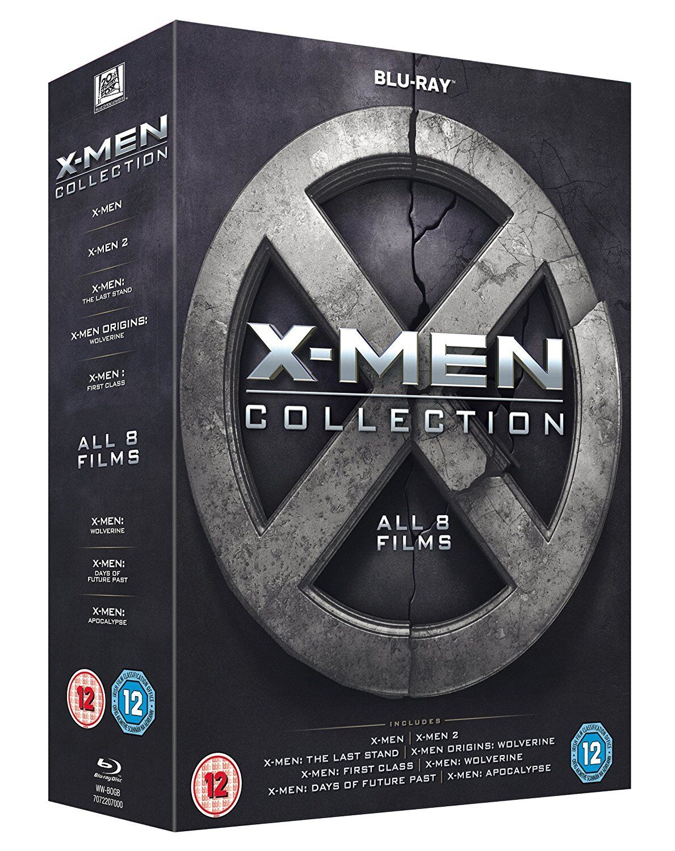 Купить X-Men Collection - All 8 Films Box Set [1-8] (Blu-ray, 8 Discs, Region Free) NEW