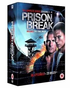 ❏ Prison Break 1 - 4 Complete Collection Box Set DVD ❏ 1 2 3 4