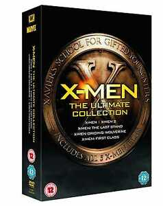 X-Men: The Ultimate Collection Box Set (5 Discs) - DVD