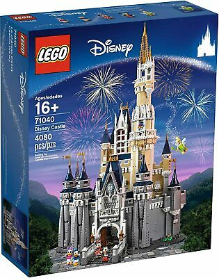 New Sealed LEGO Set 71040 Walt Disney World Cinderella's CASTLE