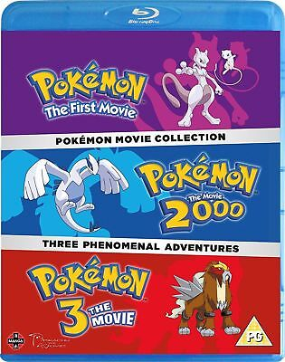 Pokemon - The Movie Collection (3 Film) Blu-Ray Nuovo Blu-Ray (Manb8810)