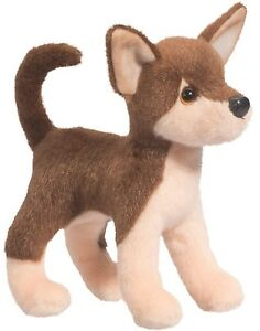 Douglas Cuddle Toys Pepito Chocolate Chihuahua #4058 Stuffed Animal Toy