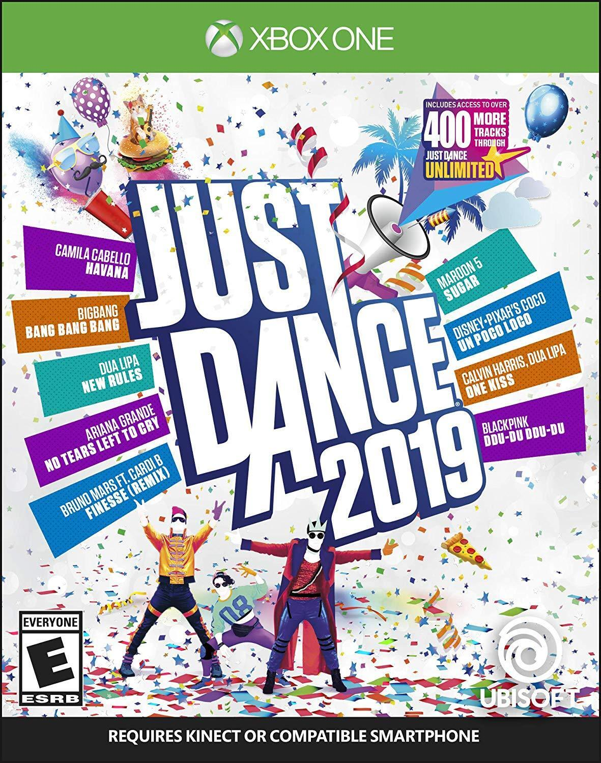 Details about Just Dance 2019 [Microsoft Xbox One Music & Rhythm The Weeknd  Daft Punk] NEW