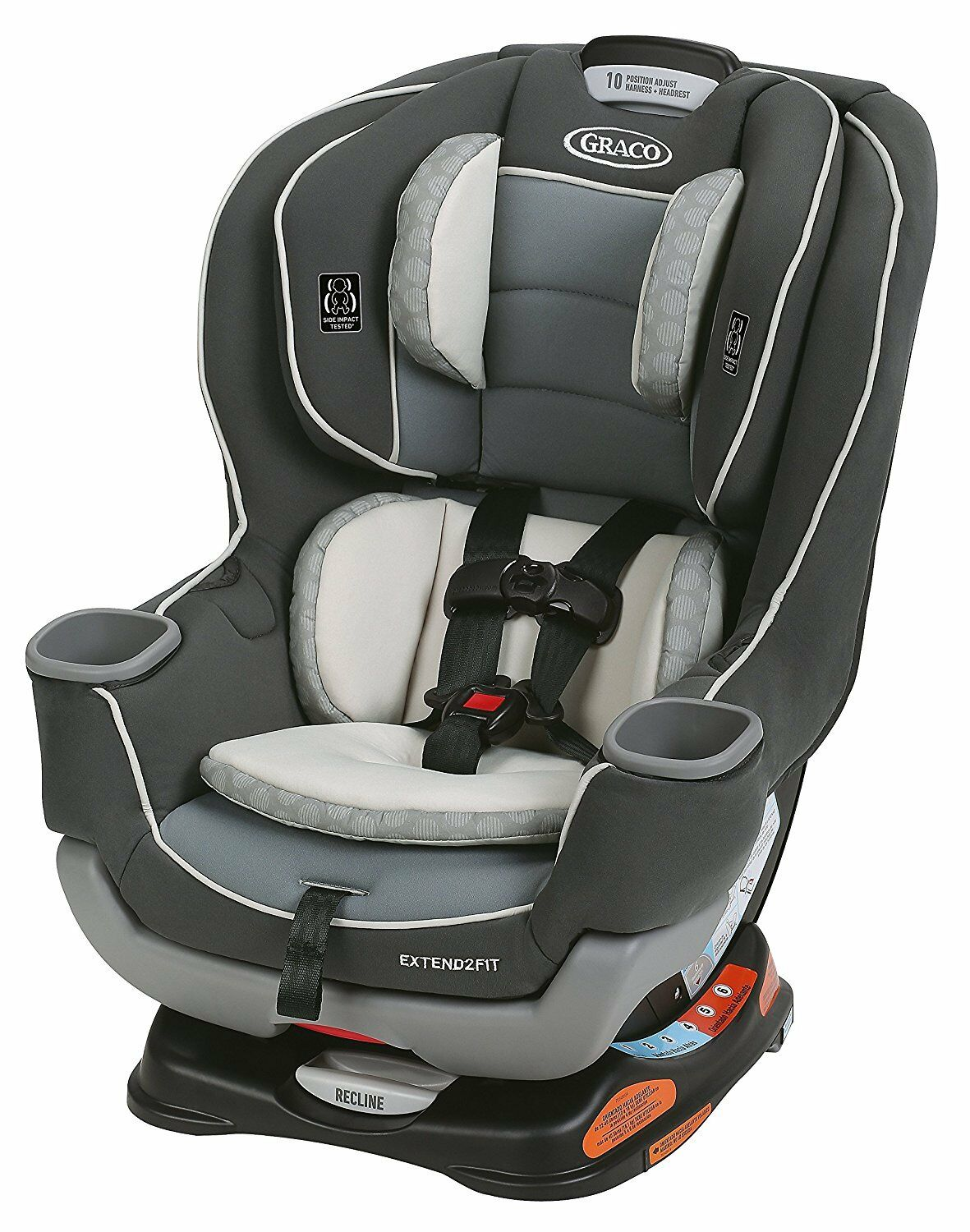 Изображение товара Graco Baby Extend2Fit Convertible Car Seat Infant Child Safety Davis NEW
