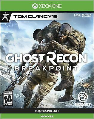 Tom Clancy's Ghost Recon Breakpoint - Xbox One 2019 Games Sealed Brand New