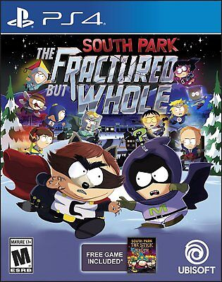 South Park  The Fractured But Whole  Sony Playstation 4  Brand New   Region Free