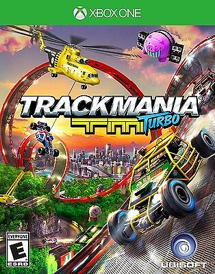 XBOX ONE XB1 GAME TRACKMANIA TURBO BRAND NEW AND SEALED