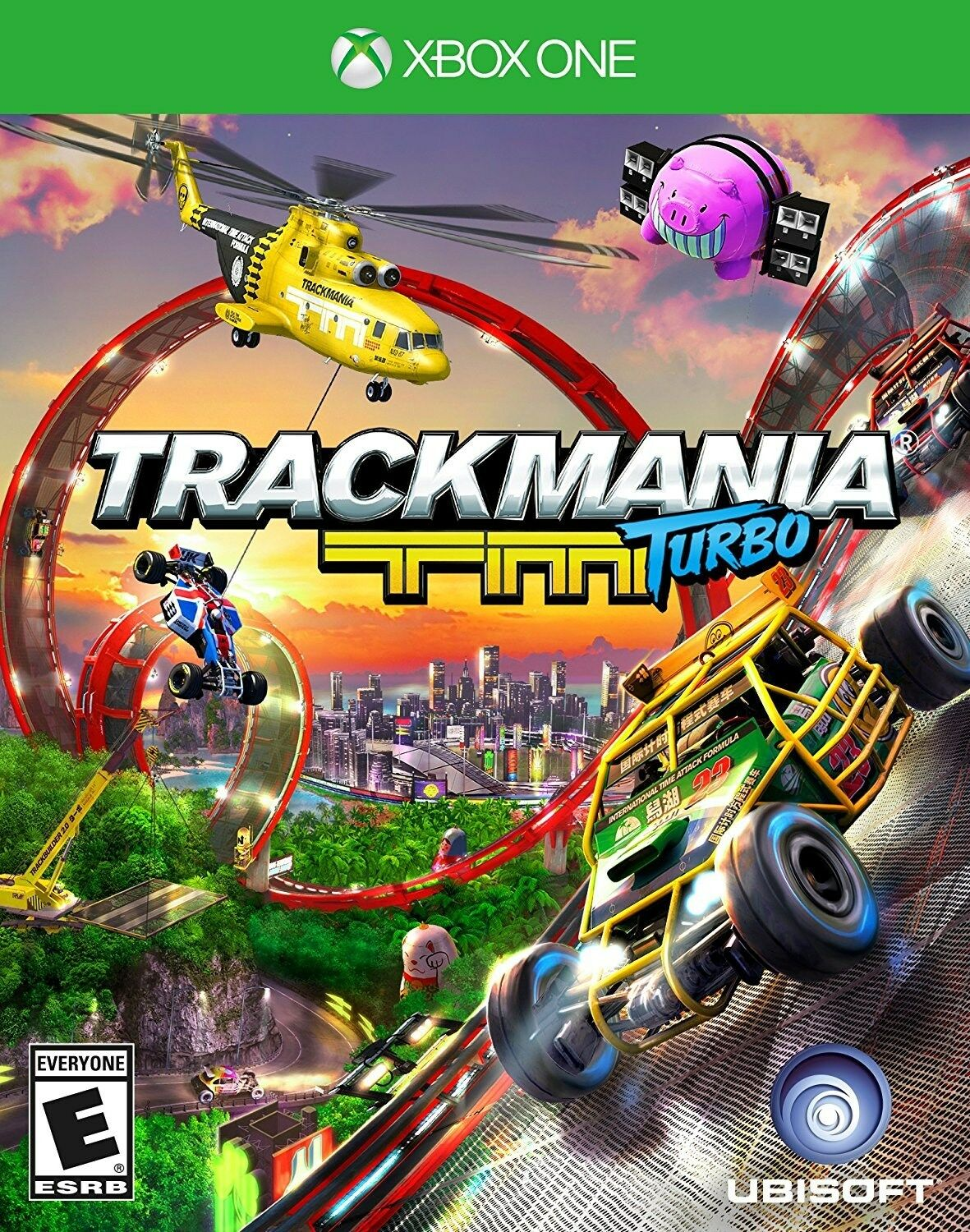 $15.49 - XBOX ONE XB1 GAME TRACKMANIA TURBO BRAND NEW AND SEALED