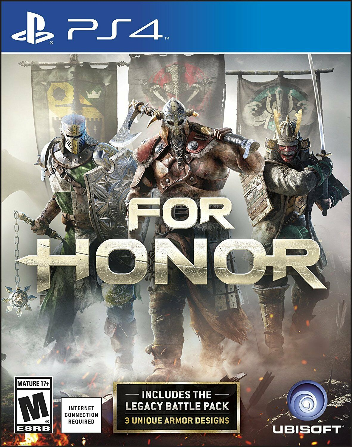 Ubisoft Ps4 For Honor (sony Playstation 4, 2017) Brand