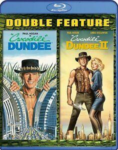 Crocodile Dundee 1 + 2 (Paul Hogan) II Blu-ray Reg-B