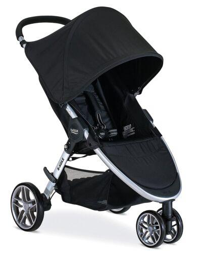 Britax 2020 B-Agile 3 Stroller in Black - NEW! (open box)