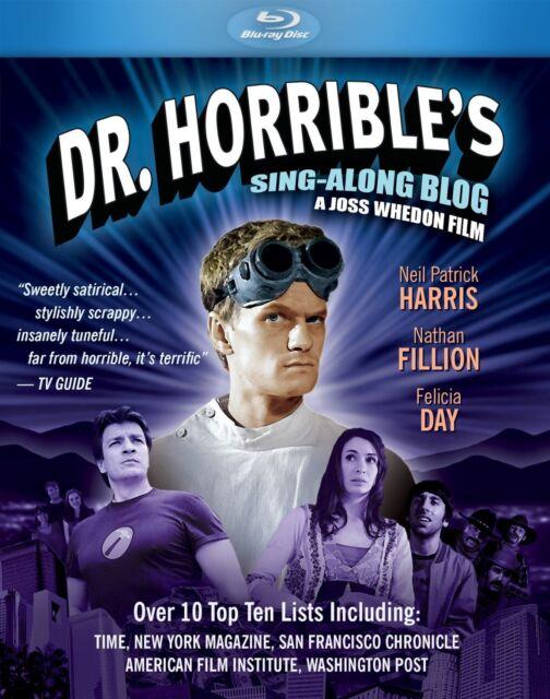 DR HORRIBLE'S SING-ALONG BLOG  -  Blu Ray - Sealed Region free