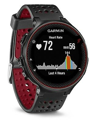 Garmin Forerunner 235 schwarz rot GPS Fitness Jogging Sport Uhr Herzfrequenz