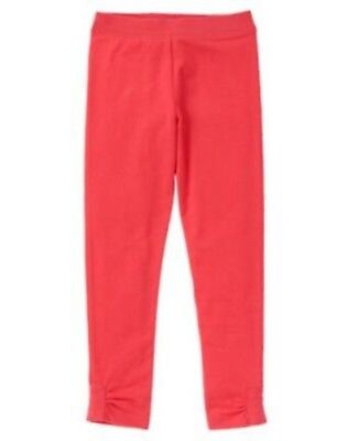Gymboree NWT Girls Play By Heart Pink / Red Leggings Size 4 5 6 7 8 10 & 12](Girls Heart Leggings)