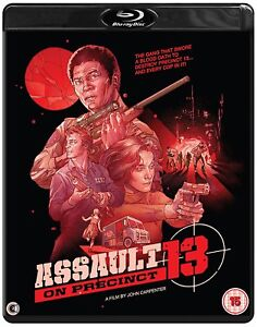 Assault On Precinct 13  - Blu ray NEW & SEALED -  John Carpenter
