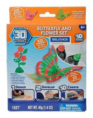 3D Maker Butterfly and Flower Expansion Pack - 3d Maker