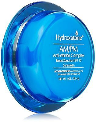 Hydroxatone AM/PM Anti Wrinkle Complex Face Cream 1 oz w/ SPF15 Sunscreen