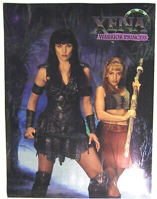 XENA Warrior Princess Exclusive Chrome Foil Poster Lucy Lawless & Renee O'Connor