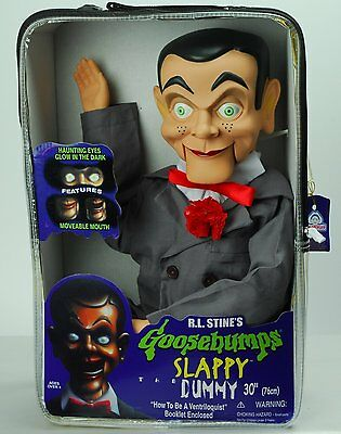 "Slappy Dummy Ventriloquist Doll Famous ""Star of Goosebumps"" - Goosebumps Slappy"