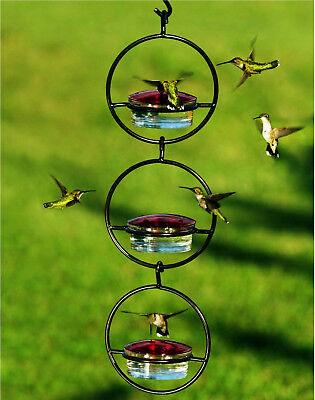 3 Awesome Sphere Glass Hummingbird Feeders for Nectar, Mealworms or Seeds