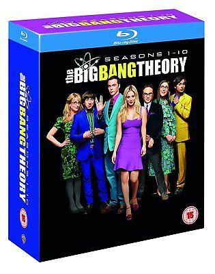 The Big Bang Theory Seasons 1 10  Blu Ray Box Set  Complete Series Collection