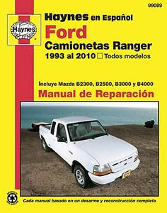 ford ranger repair manual ebay rh ebay com Mazda B3000 Owner's Manual Mazda B 3000 V6 DOHC