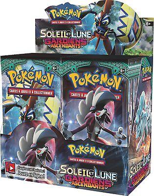B-WARE: Kartenspiel Booster Pokemon Sonne und Mond 2 – Verkaufsständer 25 Stück