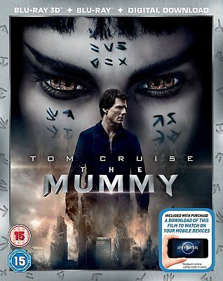 The Mummy  2017   Tom Cruise  3D   2D Blu Ray Brand New Free Ship