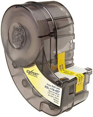 Brady Xsl-116-427 Idxpert 2.5 Height 1.5 Width B-427 Self-laminating Vinyl