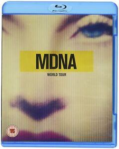 MDNA World Tour [Blu-Ray] by Madonna (Blu-ray Disc, Sep-2013, Interscope) NEW!