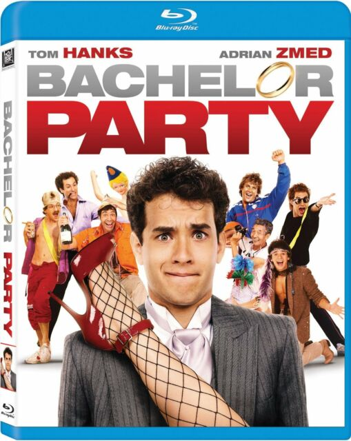 BACHELOR PARTY (1984 Tom Hanks) - BLU RAY - Sealed Region free