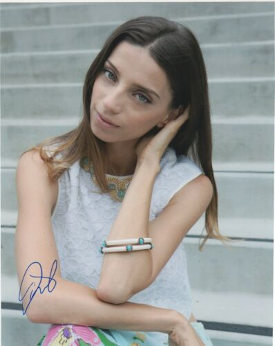 Angela Sarafyan Westworld Autographed Signed 8x10 Photo COA EF222