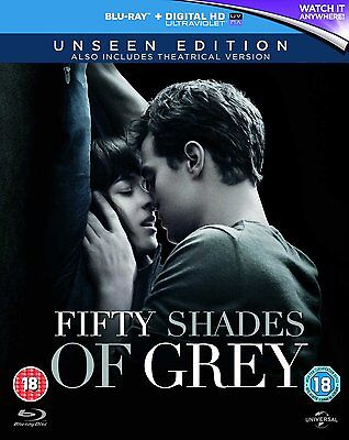 Fifty Shades Of Grey Unseen Uk Edition  Blu Ray Disc  Extended Alternate End 50