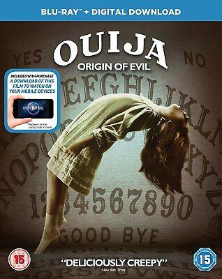 Ouija - Origin of Evil Blu Ray * NEW & SEALED* - Evil Origins Of Halloween