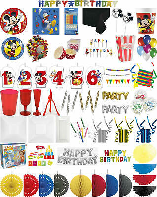 Kinder-Geburtstag Party Deko Feier Fete Motto Mickey Mouse Freunde ()