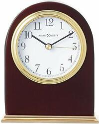 Howard Miller Monroe Table Clock 645-446 – Modern Wood with Quartz Movement