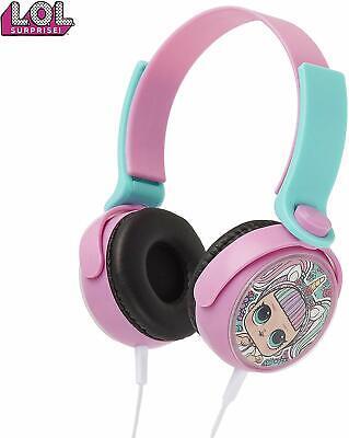 LOL Surprise! Kids Headphones With LoL Dolls Unicorn,Over Ear Wired Headphones