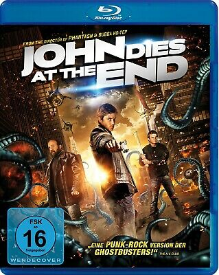 JOHN DIES AT THE END (Chase Williamson, Rob Mayes) Blu-ray Disc