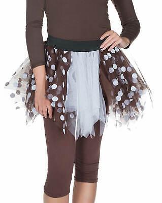 Petticoat Tüllrock Rehkitz Rehlein Reh Karneval Fasching - Rehkitz Kostüm