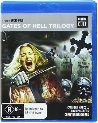Gates Of Hell : Trilogy (Lucio Fulci)   (BLU RAY) Region B  -sealed